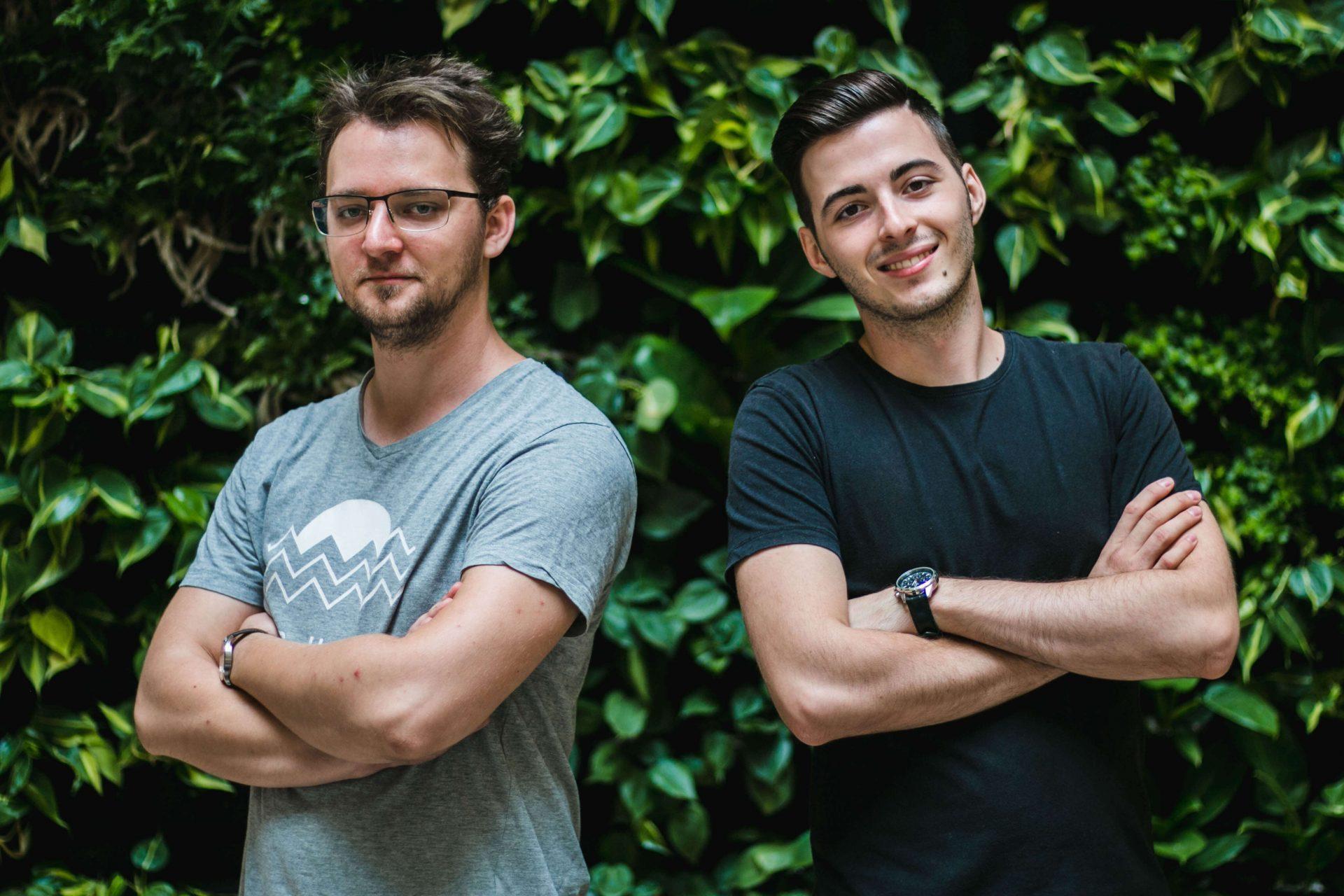 István és Áron a Corvinus Egyetemen