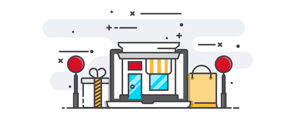 Online Store grafika
