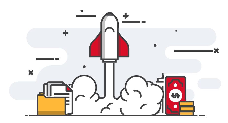 Startup grafika